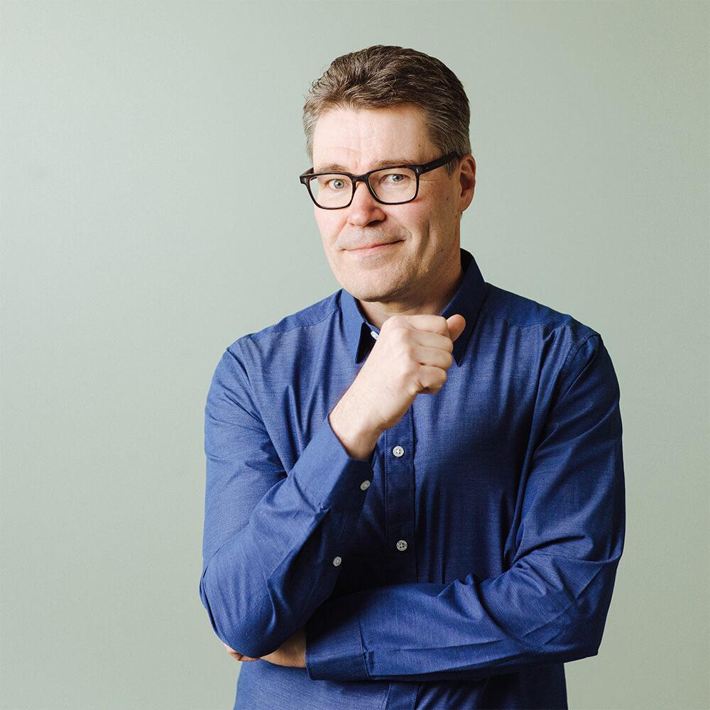 Copywriter Oskari Uusitalo, © Vilja Harala